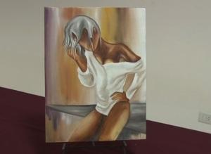 Mujer-cuadro