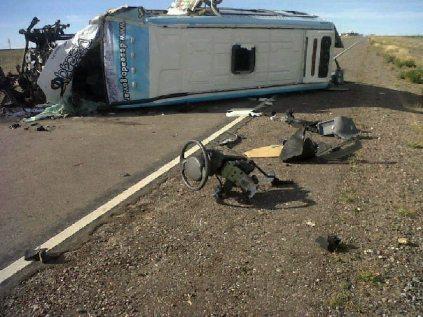 Resultado de imagen para accidente puerto deseado ricky silvi