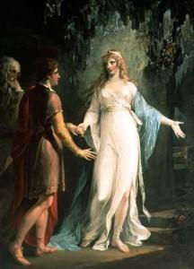 La ninfa Calipso retuvo a Odiseo durante algunos años en su Isla, enamorándose profundamente de él