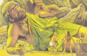 Polifemo, el temible Cíclope que devoró a dos de los compañeros de Odiseo