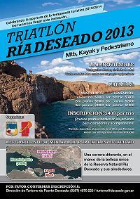 Triatlon Ria Deseado 2013