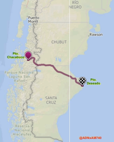 Argentina - Chile: proyecto ferrocarril patagónico