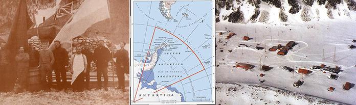 22 de febrero de 1904 --- Sector Antártico Argentino --- Base Orcadas actual
