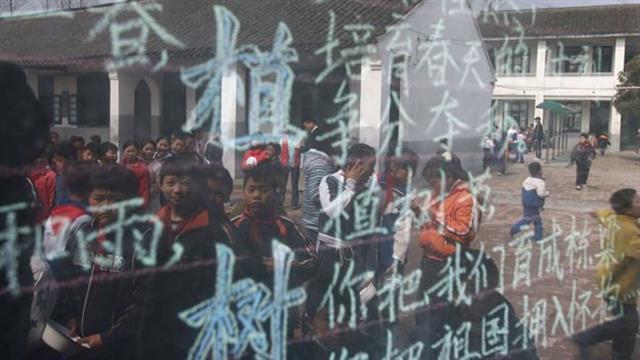 Expertos en educación buscan la manera de cerrar la brecha con sus homólogos de Shanghái. Foto: AFP